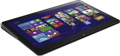 Ноутбук Sony VAIO SVF13N1J2RS - планшетный вид