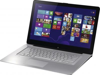 Ноутбук Sony Vaio SVF14N1J2RS - общий вид