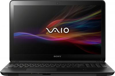 Ноутбук Sony VAIO SVF1521B1RB - фронтальный вид