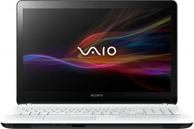 Ноутбук Sony VAIO SVF1521B1RW - фронтальный вид