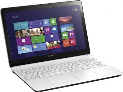 Ноутбук Sony VAIO SVF1521B1RW - общий вид