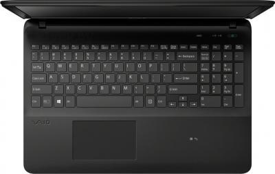 Ноутбук Sony VAIO SVF1521P1RB - вид сверху