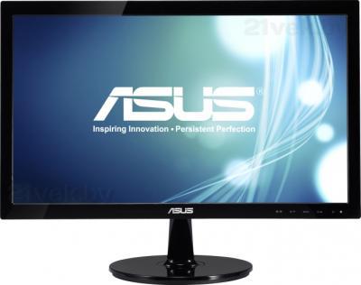 Монитор Asus VS207DE - фронтальный вид