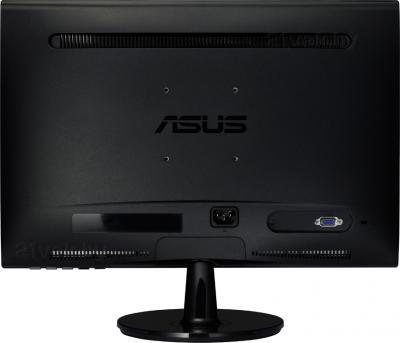 Монитор Asus VS207DE - вид сзади