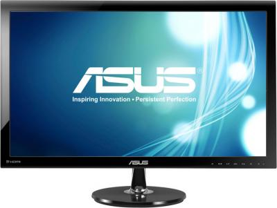 Монитор Asus VS278Q - фронтальный вид