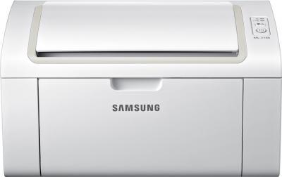 Принтер Samsung ML-2168W - фронтальный вид