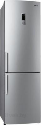 Холодильник с морозильником LG GA-B489YLQA - общий вид