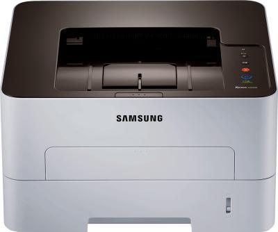 Принтер Samsung SL-M2820ND - фронтальный вид