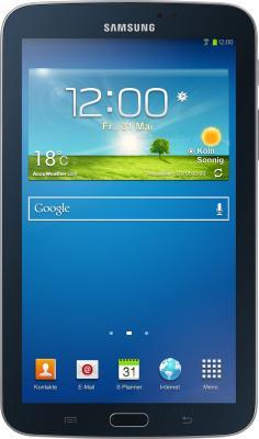 Планшет Samsung Galaxy Tab 3 7.0 8GB Black (SM-T210) - фронтальный вид