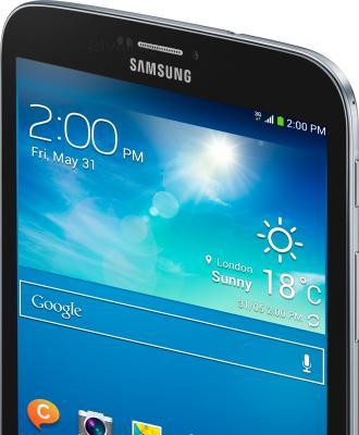 Планшет Samsung Galaxy Tab 3 8.0 16GB 3G Black (SM-T311) - динамик и фронтальная камера