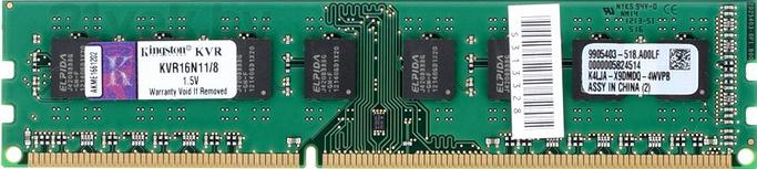 ValueRAM 8GB DDR3 PC3-12800 (KVR16N11/8) 21vek.by 1141000.000