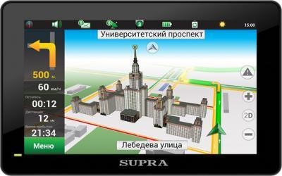 GPS навигатор Supra SNP-506AT - общий вид