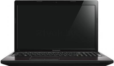 Ноутбук Lenovo G585A (59395310) - фронтальный вид
