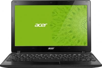 Ноутбук Acer Aspire V5-123-12102G32nkk (NX.MFQEU.001) - фронтальный вид