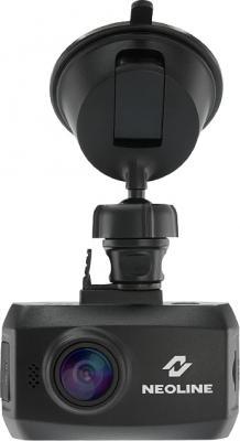Автомобильный видеорегистратор NeoLine Ringo - фронтальный вид с креплением