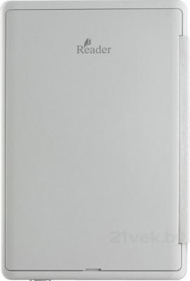 Электронная книга Sony PRS-T3 (белый) - вид сзади