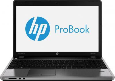 Ноутбук HP ProBook 4540s (H6R10EA) - фронтальный вид