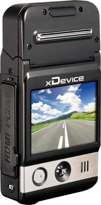 Автомобильный видеорегистратор xDevice BlackBox-5 - дисплей