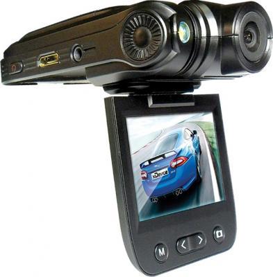 Автомобильный видеорегистратор xDevice BlackBox-24 - дисплей