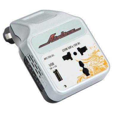 Автомобильный инвертор Airline API-150-01 - общий вид