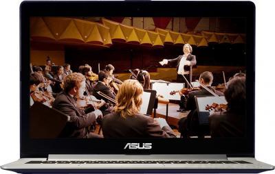 Ноутбук Asus VivoBook S301LA-C1027H - фронтальный вид