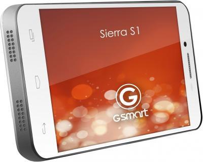 Смартфон Gigabyte GSmart Sierra S1 (White) - вид сбоку