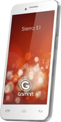Смартфон Gigabyte GSmart Sierra S1 (White) - передняя и боковая панели