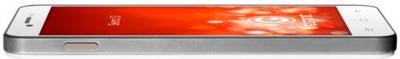 Смартфон Gigabyte GSmart Sierra S1 (White) - вид лежа