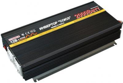 Автомобильный инвертор Союз PI-2000/12 - общий вид