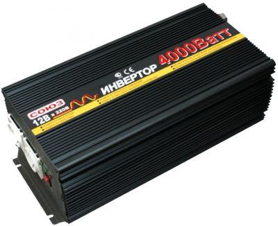 Автомобильный инвертор Союз PI-4000/12 - общий вид