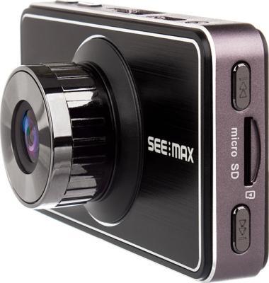 Автомобильный видеорегистратор SeeMax DVR RG520 (Black) - вид сбоку