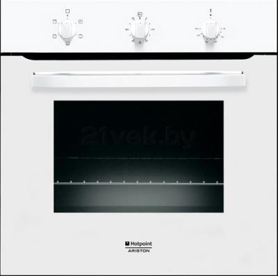 Электрический духовой шкаф Hotpoint FH 21 (WH)/HA S - общий вид