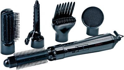 Фен-щётка Supra PHS-2050N (черный) - общий вид