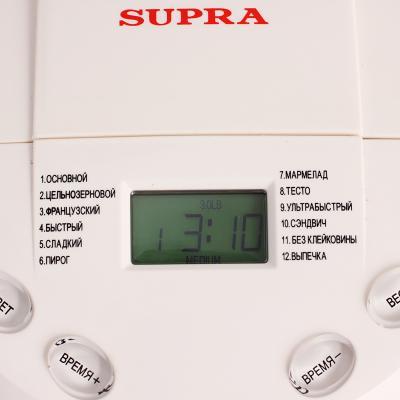 Хлебопечка Supra BMS-350 - панель управления