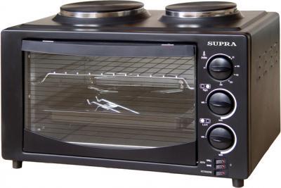 Электрическая настольная плита Supra MTS-302 (Black) - общий вид