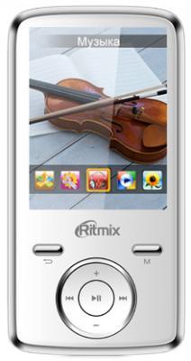 MP3-плеер Ritmix RF-7650 (8Gb, белый) - общий вид