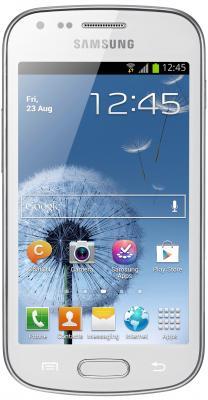 Смартфон Samsung S7560 Galaxy Trend (White) - общий вид