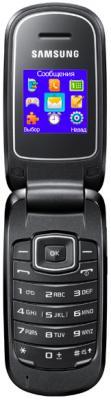 Мобильный телефон Samsung E1150i (Titanium-Gray) - общий вид в открытом состоянии