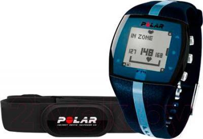 Пульсометр Polar FT4 (синий)