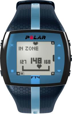 Пульсометр Polar FT4 (синий) - общий вид