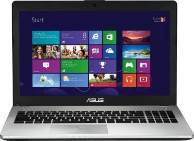 Ноутбук Asus N56VV-S4024H - фронтальный вид