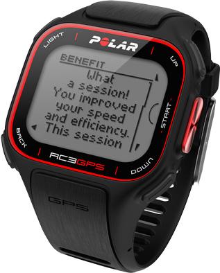 Пульсометр Polar RС3 GPS (Black) - общий вид