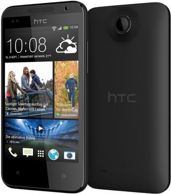 Смартфон HTC Desire 300 (Black) - передняя и задняя панели