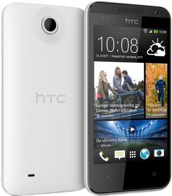 Смартфон HTC Desire 300 (White) - передняя и задняя панели