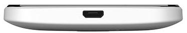 Смартфон HTC Desire 300 (White) - нижняя панель