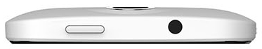 Смартфон HTC Desire 300 (White) - верхняя панель