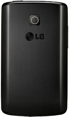 Смартфон LG E420 Optimus L1 II Dual (Black) - задняя панель