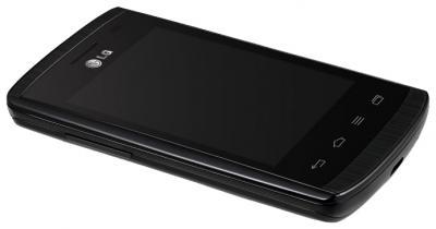 Смартфон LG E420 Optimus L1 II Dual (Black) - вид сбоку