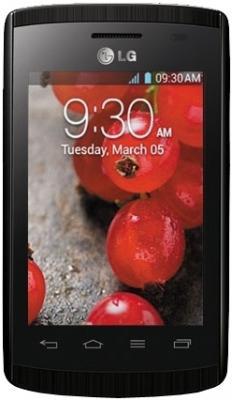 Смартфон LG E420 Optimus L1 II Dual (Black) - общий вид