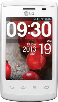 Смартфон LG E420 Optimus L1 II Dual (White) - общий вид